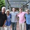Jeff, Jean, Josh and Jordan Stroud with Colin Lyman