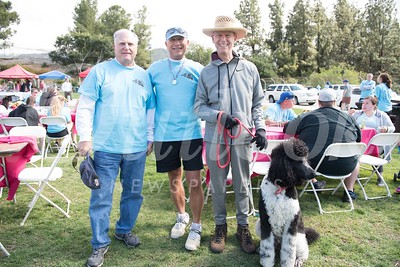 26 Jim Youndt, Brian Hull, Mike Nickoloff with Oliver (dog) -1