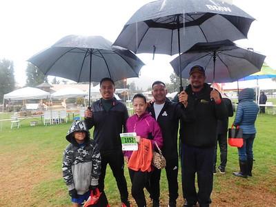 Andrew and Juan Gonzalez with Bernice, Ralph and Omar Ortiz