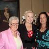Event chair Cindi McIntosh-Behr (center) with Priscilla Brandt and Kristin Biggs