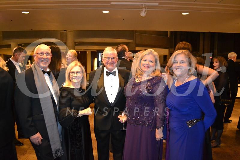 Carmen and Joani Porto, Mayor Len and Brenda Pieroni and Jeanie Kay