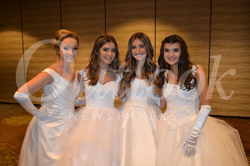 Lily Dunbar, Audrey Raulli, Gabriella Connell and Siena Dancsecs