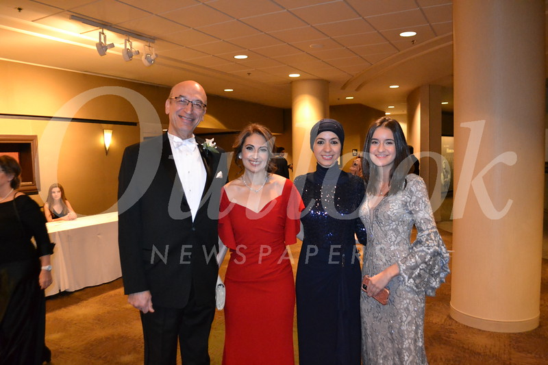 Ihsan and Abeer Kayali with Shathae and Nadene Eissa