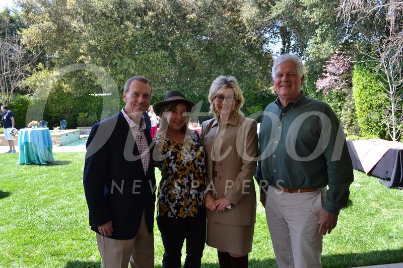 Jonathan and Lisa Curtis with Suzanne and Greg Jones