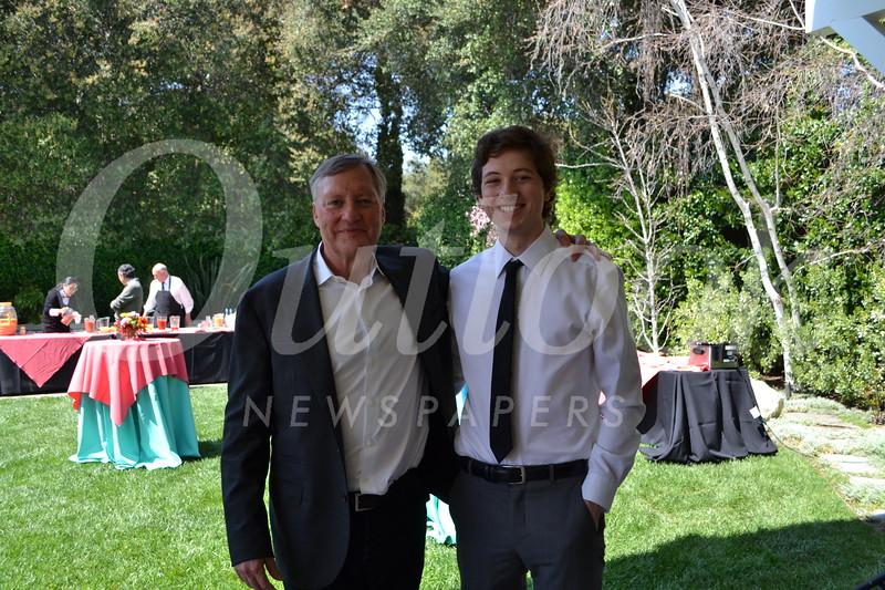 David and Finn Sagal