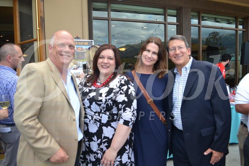 Todd Andrews, Jessica Thomas, Deborah Weirick and Dave Battaglia
