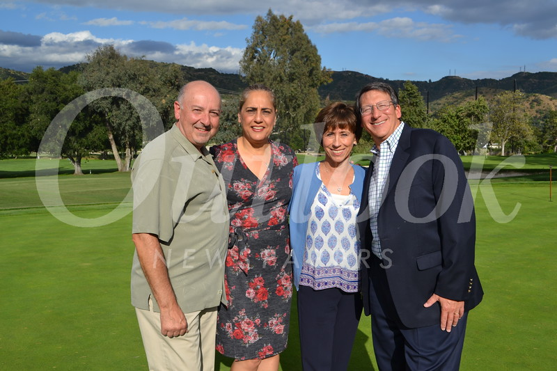 Bruce and Kathy Seuylemezian with Julie and Dave Battaglia