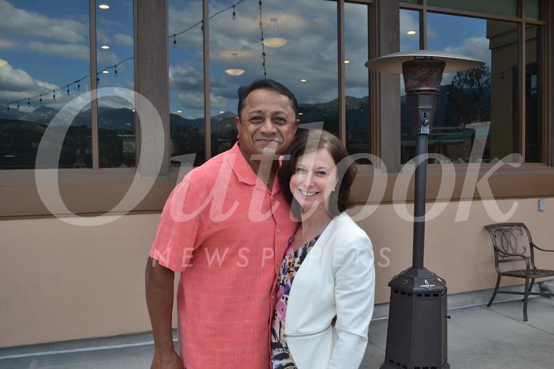 Sunder and Mandy Ramani