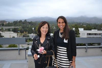 Sandy Ahn and Kerri Yoder-Hubbard