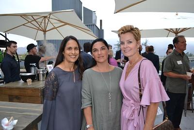 Sheila Dunbar, Mercedes Fleischman and Lee Chumo