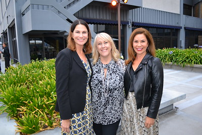 Deborah Weirick, Christie Clarkson and Marie Sabatella