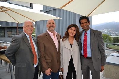 Todd Andrews, Doug and Alicia Harmon, and Rahul Ravipudi
