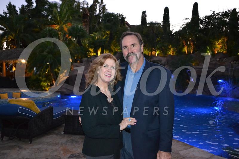 Brenda Gant and Jeff Hughes