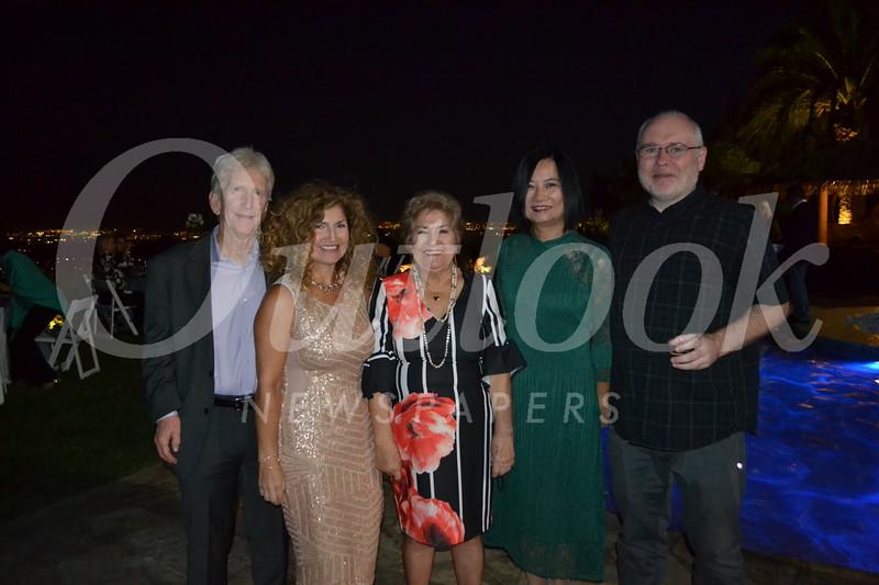 Ed and Analily Park, Zoila Rojas, Lynne Wang and John Hughes
