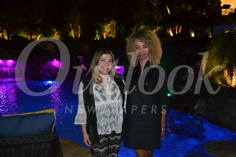 Sandra Belloso and Beatrice Usher