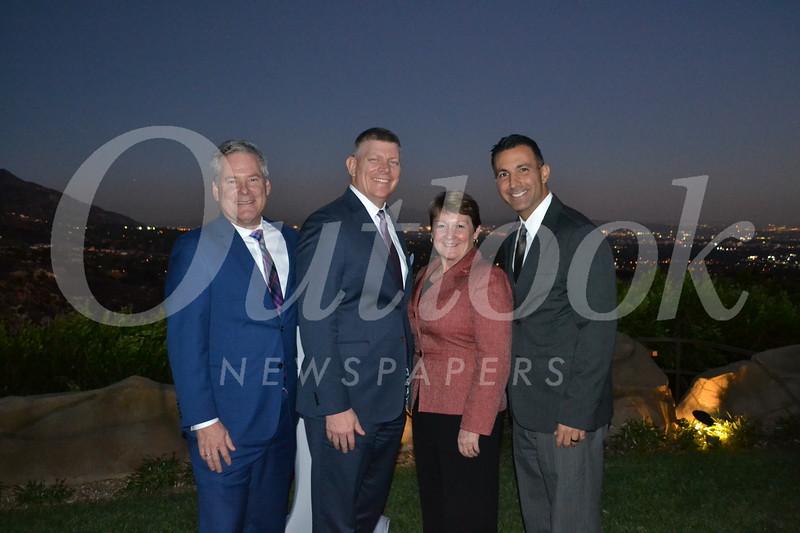 Keith Hobbs, Kenny Pawlek, Theresa Murphy and Dr. Armand Dorian