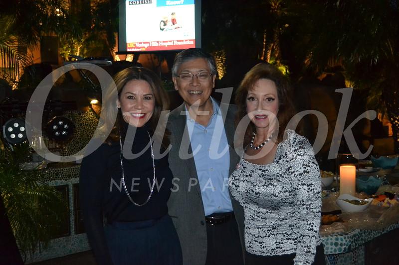 Marcie Sabatella with Dennis and Tina Marie Ito