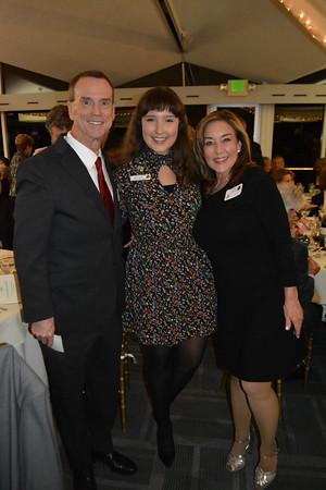 Princess Emilie Risha with Jonathan and Lisa Curtis