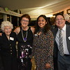 Betty Ryan, Harriet Hammonds, Princess Rukan Saif and Brian Echer