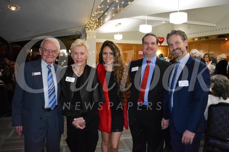 Bill Pounders, Madeline Moran, Poliana Sicchieri, and Brett and Erik Pounders