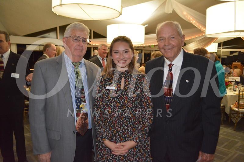 Princess Mia Thorsen with Chuck Hughes and Joe Thompson