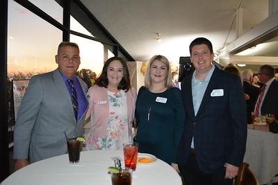 Jeff Helgager, Samantha Wickersham, and Christina and James Herrington