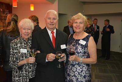 Diane and John Landrum with Charlotte Layland