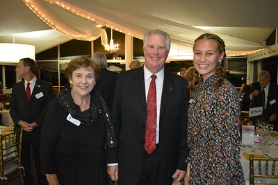 Ann Neilson, Mike Leininger and Rose Princess Reese Rosenthal Saporito