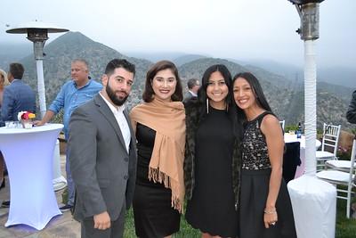 Levon Terzian, Nayri Vartanian, Natalie Abou-Chakra and Annie Azizian