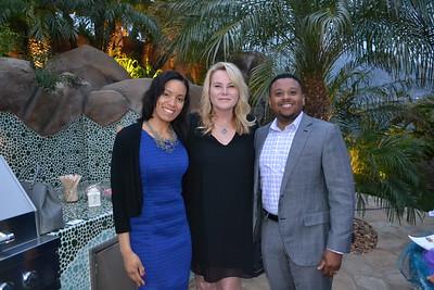 Lisa Prince, Dianne Martin and Daniel Prince