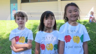 13 Atticus Walsh,  Maya Kim and Emma Que