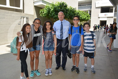 Dr  Jarett Gold  with 7-8 students 497