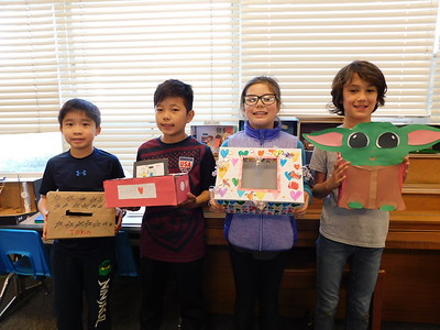 Boxes of Love Built at Paradise Canyon Elementary