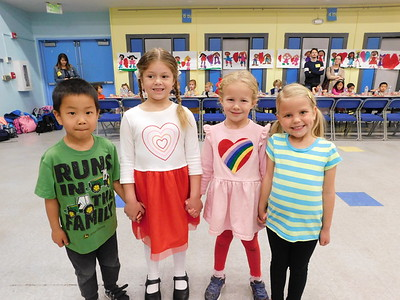 Day of Hearts Celebrated by Little Ones at LCE