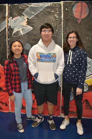 Science National Honors Society leadership Audrey Chen, Justin Wang and Alex Gates 465