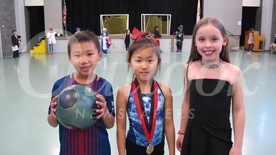 10 Eli Joung, Tessa Joo and Ava Neiberger