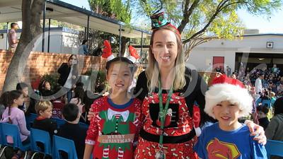 20 Sydney Kim, teacher Anya Lloyd and Colin Sheow