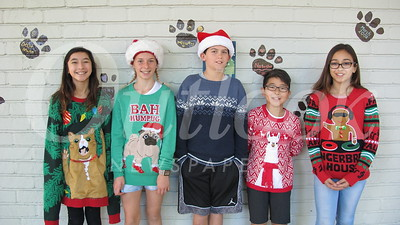 13 Aria Pacheco, Catey Mulheim, Anthon Cannon, Kyle Shibata and Andrianna Pitsos