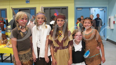 03 Amber Nowaczek, Kendal Cuxil, Brianna Waterman, Annalise Armentrout-Wiswall and Emily Viguerias