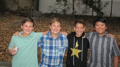 11 Patrick Thuss, Ben Schafer, Nathan Hohnbaum and Brian Chen