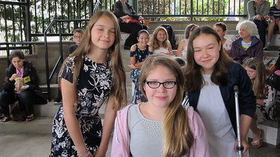 15 Marissa Halley, Ananlise Arementrout-Wisewall and Natalie Bon-Ari