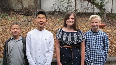 21 Grady Conwell, Max Cho , Sarah Martinez and Stellan Klemmer