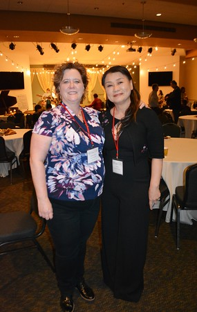 Event co-chairs Michelle Lynskey and Julie Chow 517