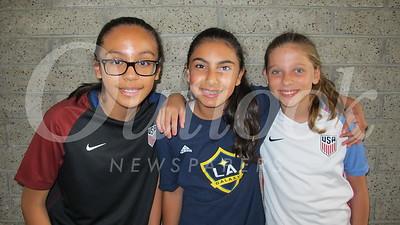 14 Abby Arellano, Kiana Shapourfiar and Eva Blanchard