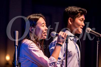 Lisa Son and Sang Min Lee perform Falling Slowly