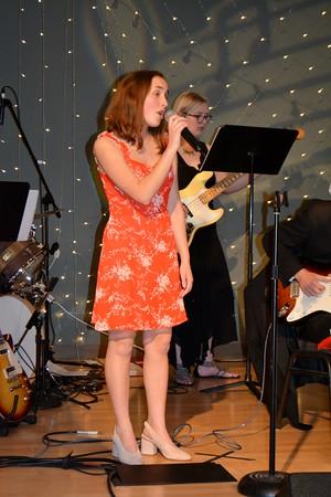 Soloist Maggie MacKenzie and Bassist Caroline Daniels 505