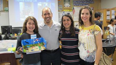 11Ava, Ramsey, Leya and Tara Amin