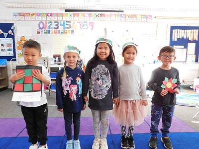 01 Kayson Lee, Hayley Hardash-Seltzer, Saige Choi, Zoe Lee and Joseph Jeong