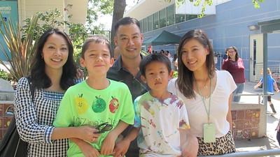 17 Joann Woo, Luke Wright and  Danny, Cameron and Amy Tsai