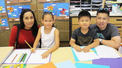 PCY Kindergartners Host Parents Day